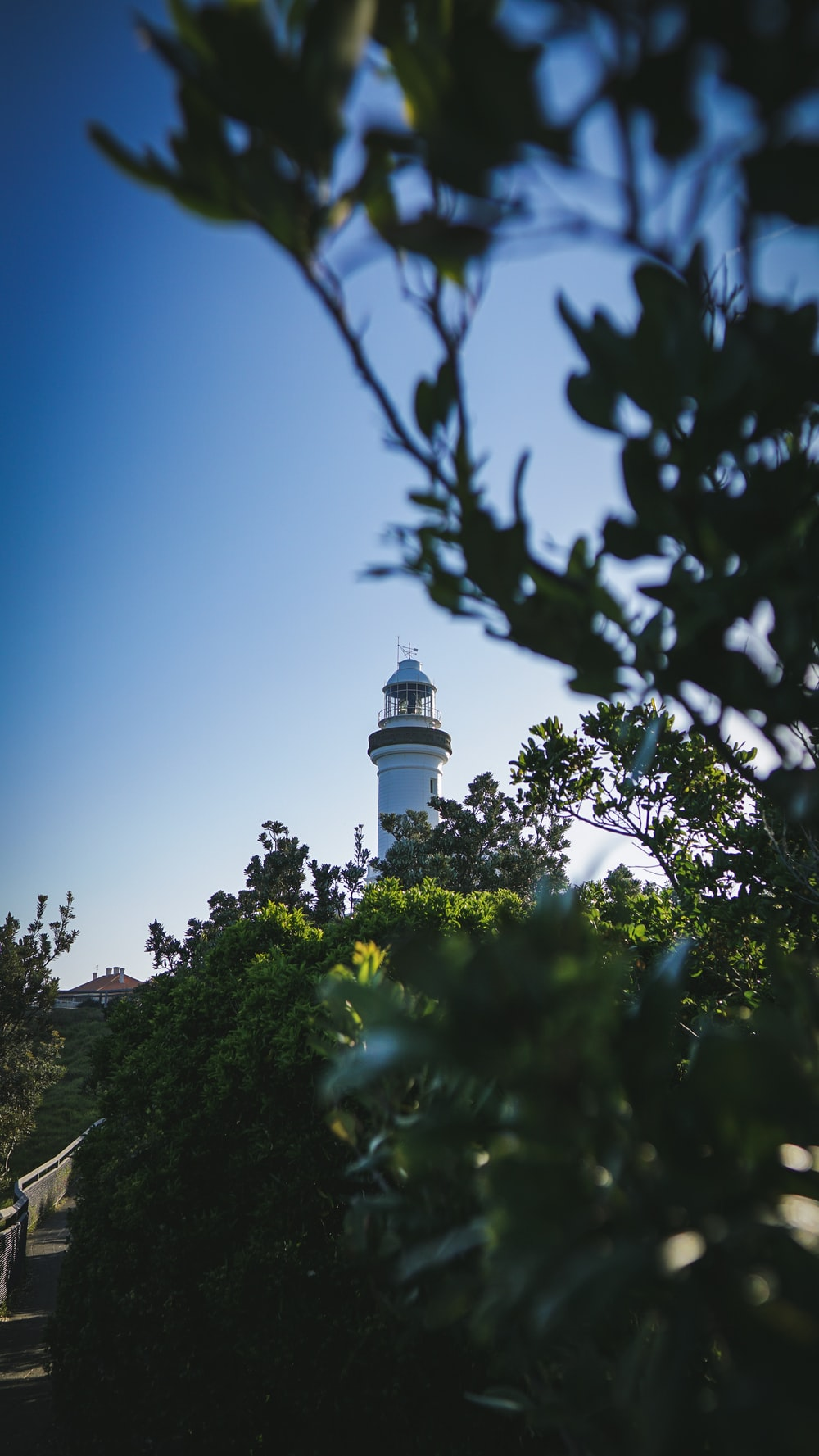white watch tower