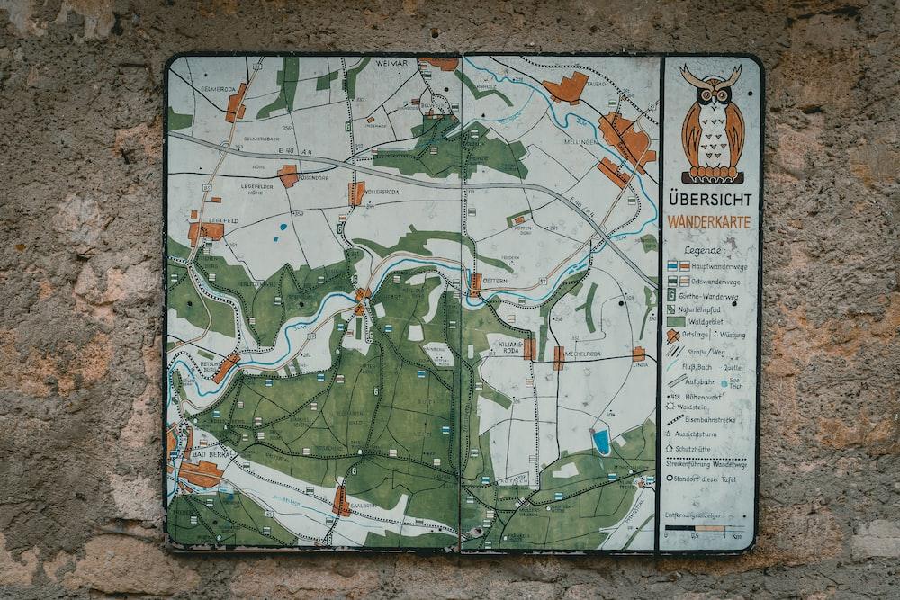 Ubersicht map board