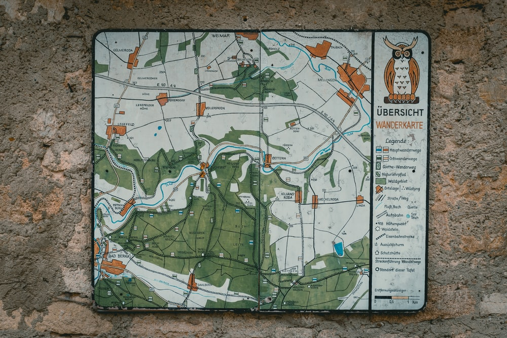 Ubersicht map board