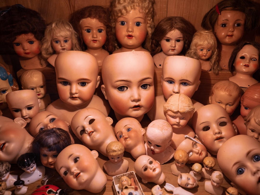 Doll Heads in Suomenlinna Toy Museum