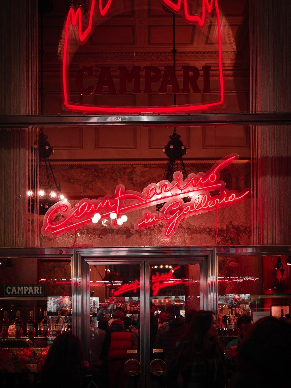 Campari LED signage