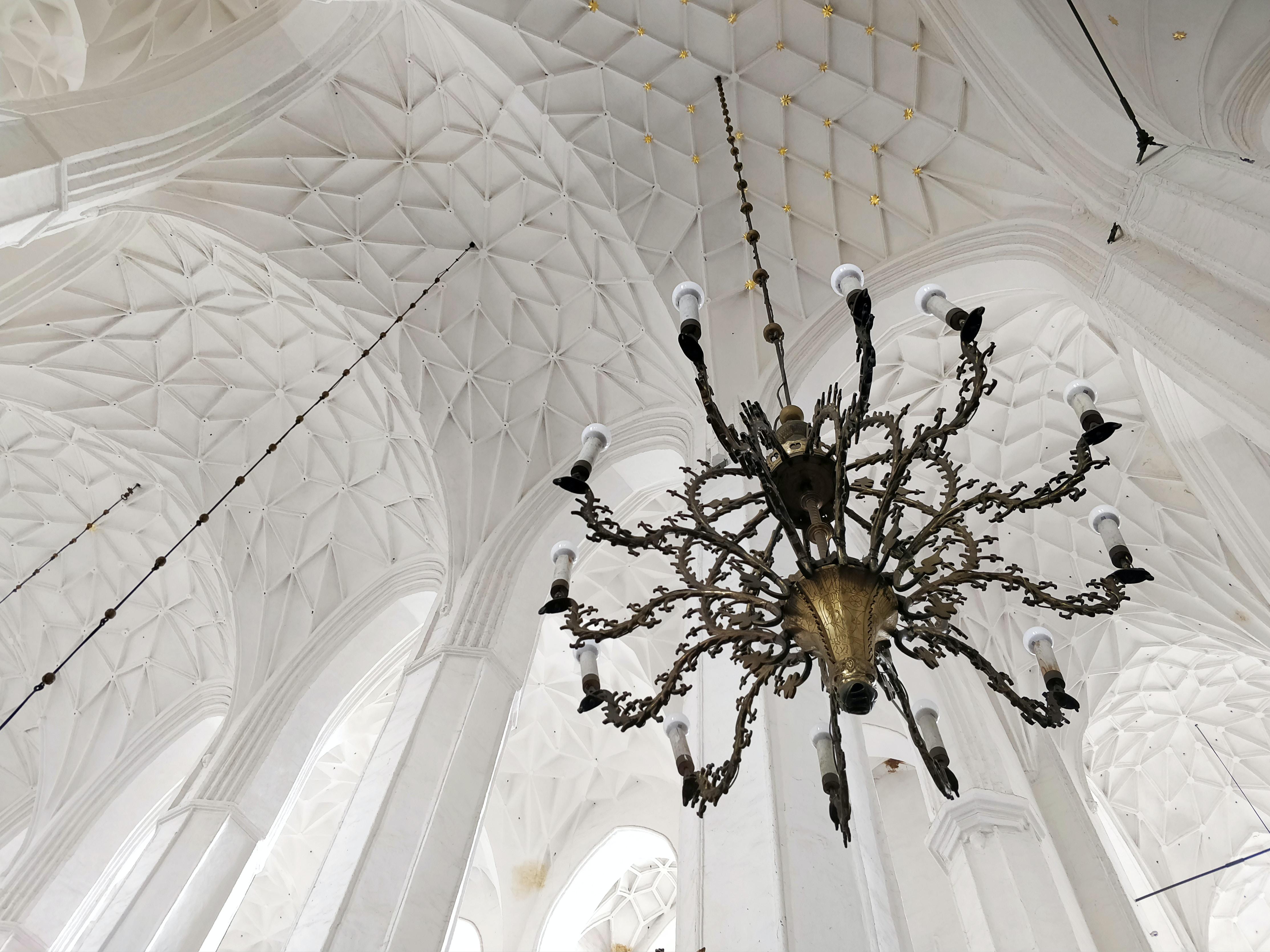 uplight chandelier