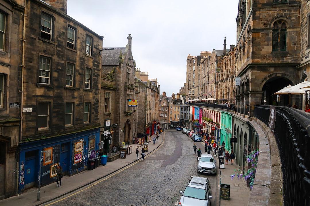 Victoria Street Edinburgh, UK
