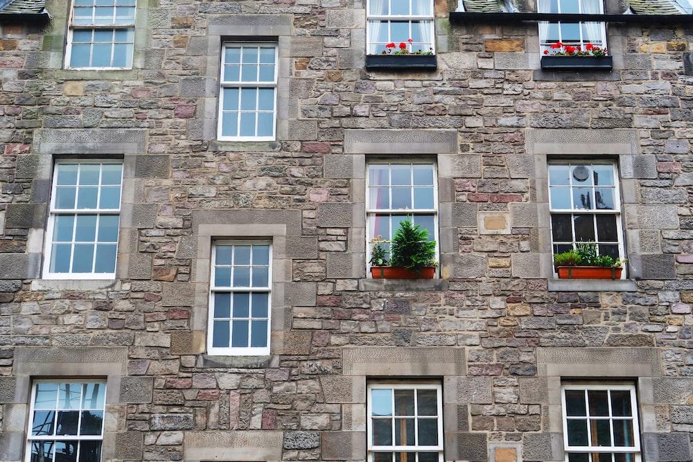 building glass windows