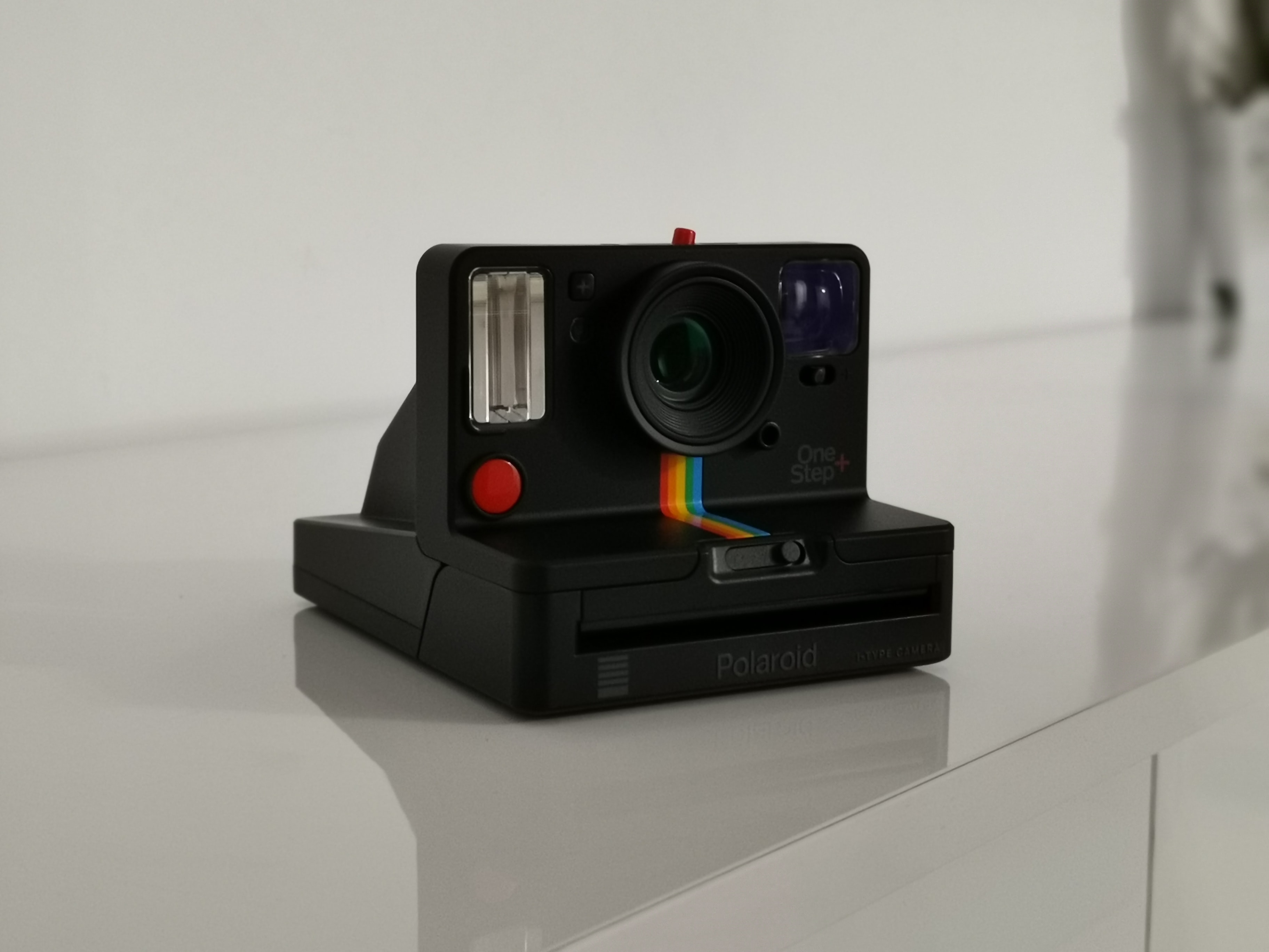black and gray action camera