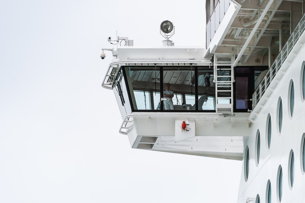 white control tower