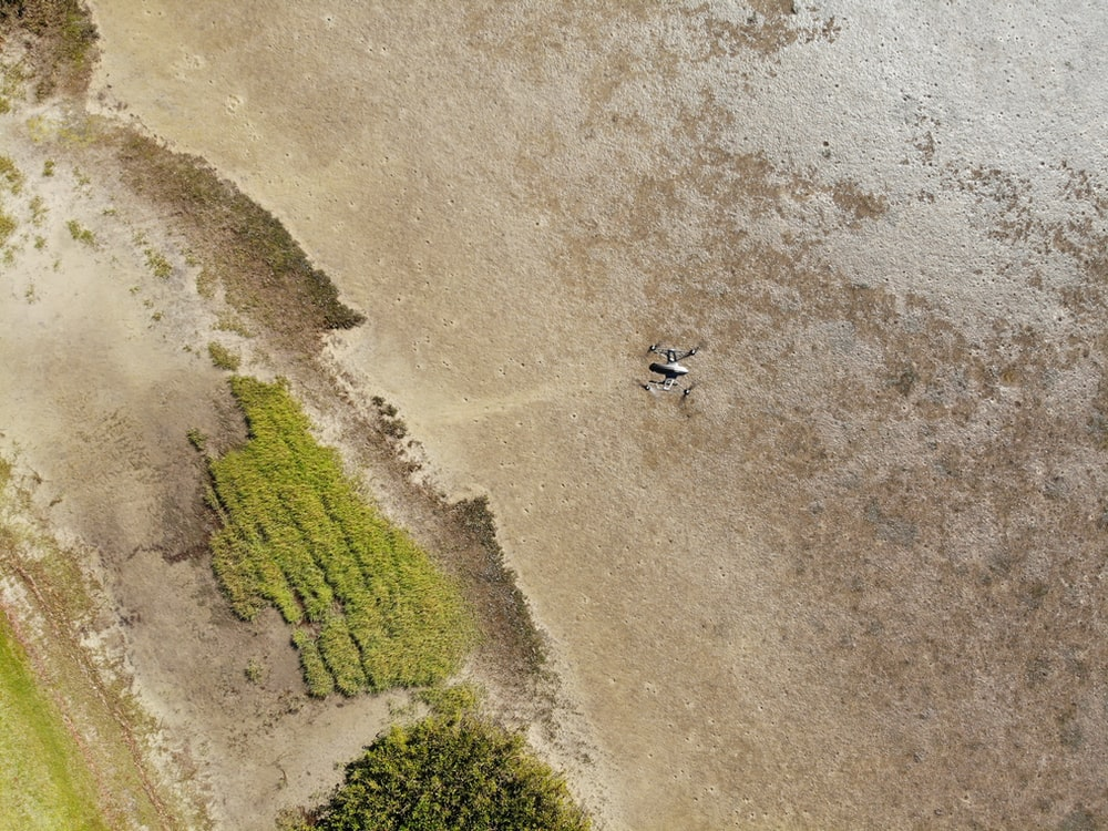 aerial photography of land during daytime