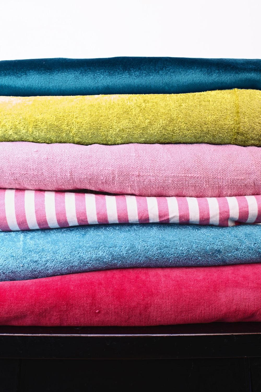 assorted-color apparel