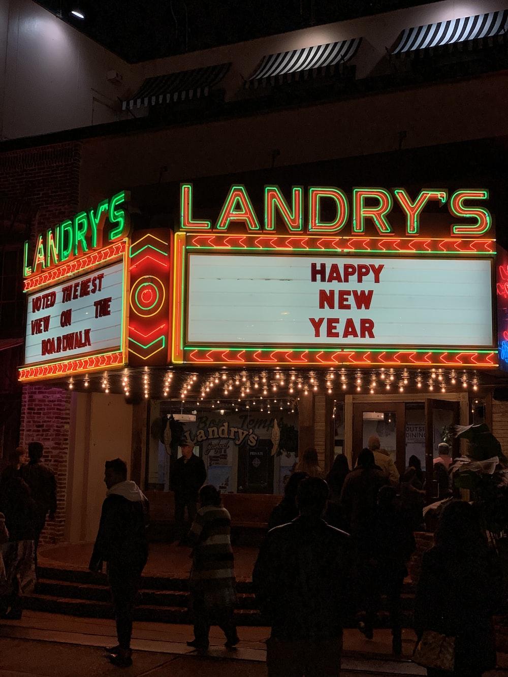 Landry's Happy New Year