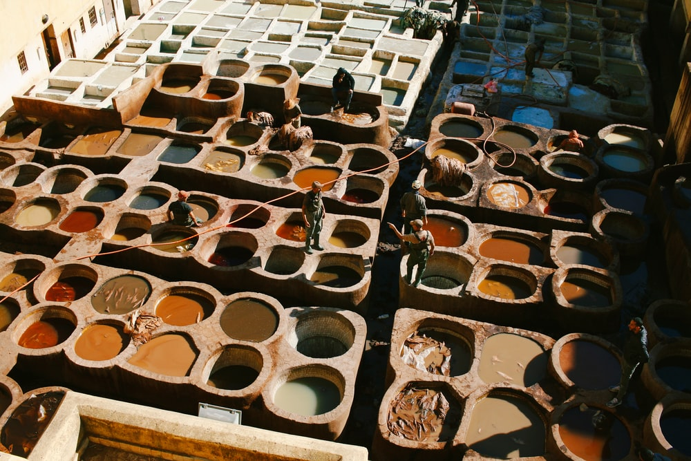 brown clay pot lot