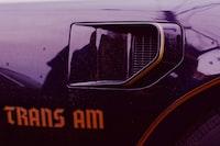 black Pontiac Trans Am
