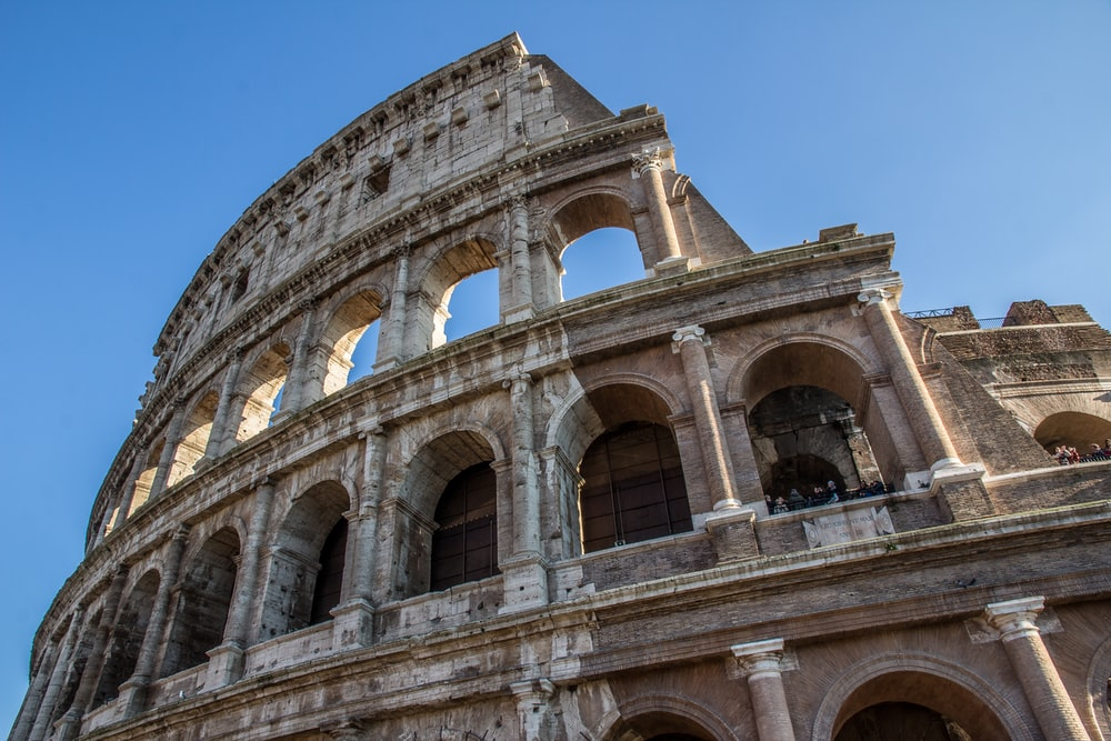 Colosseum, Italy during daytime