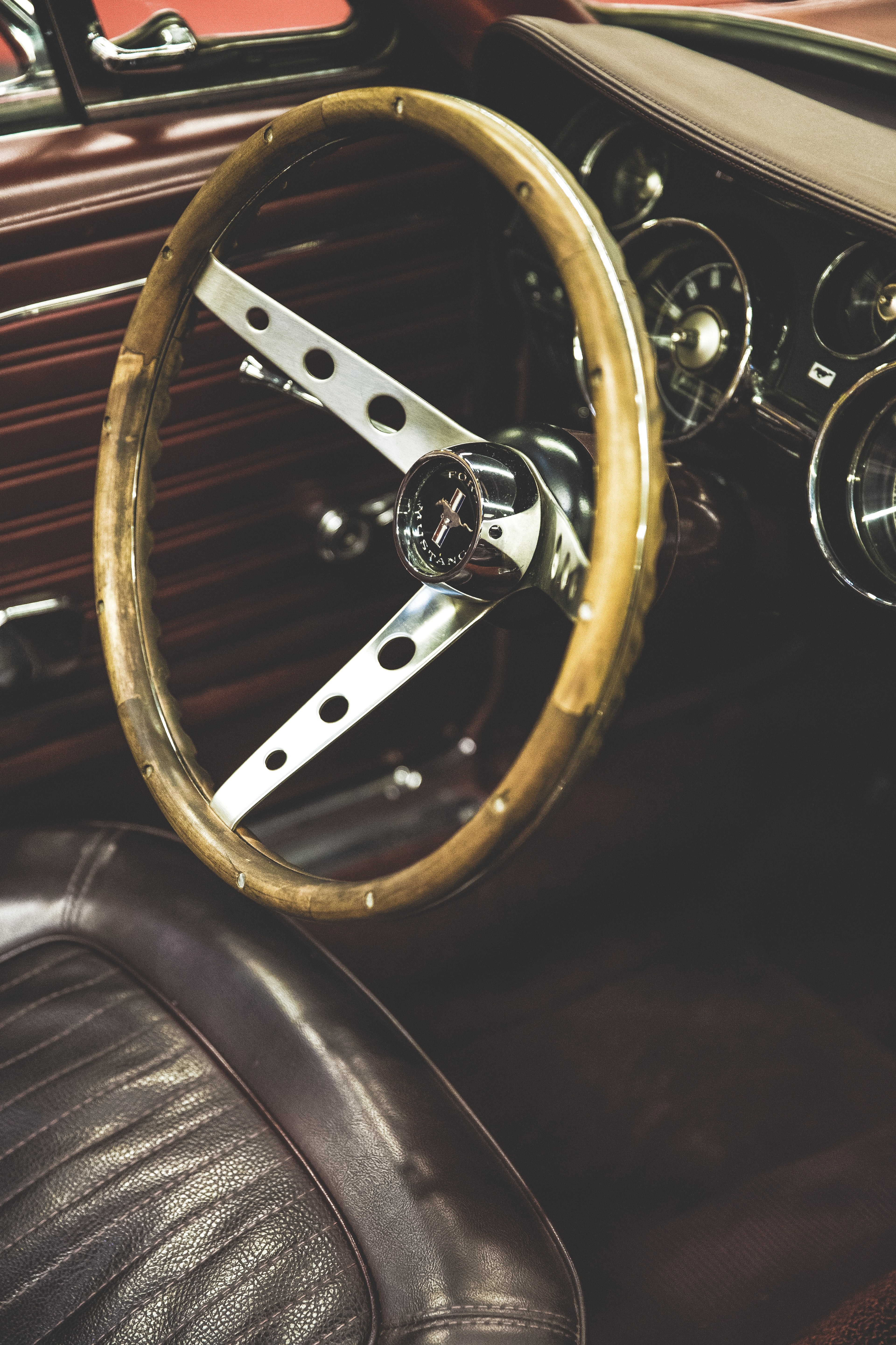 gold and black car wheel