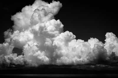 grayscale photography of nimbus clouds cloud teams background
