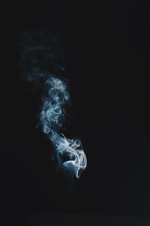 white smoke digital wallpaper