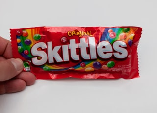 Skittles candy pack