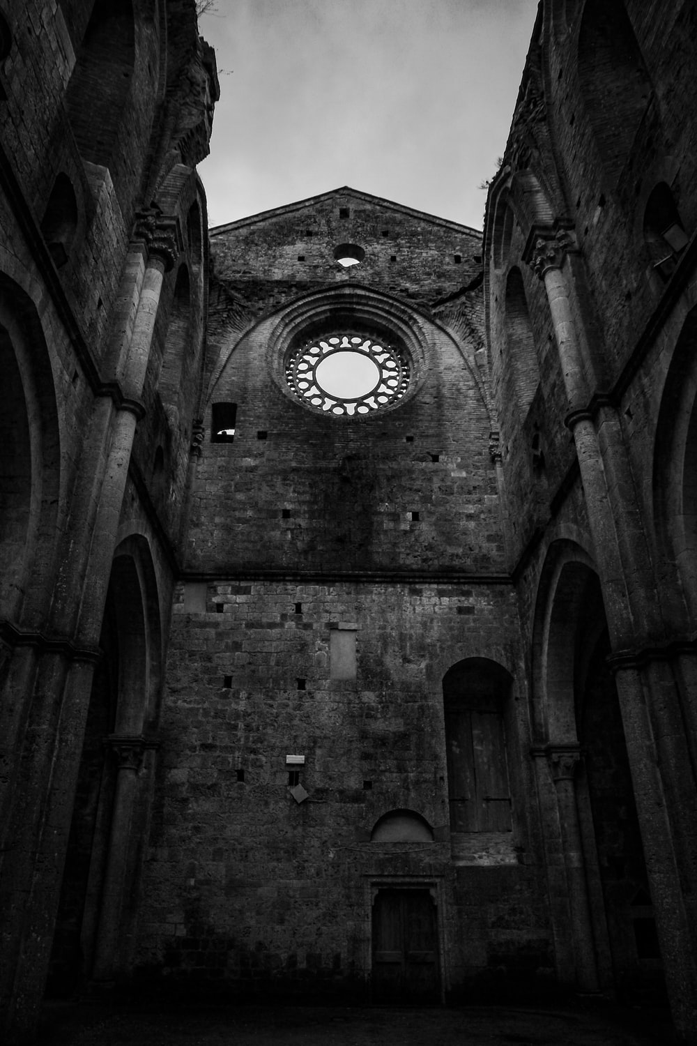 low-angle photography of gothic cathedral