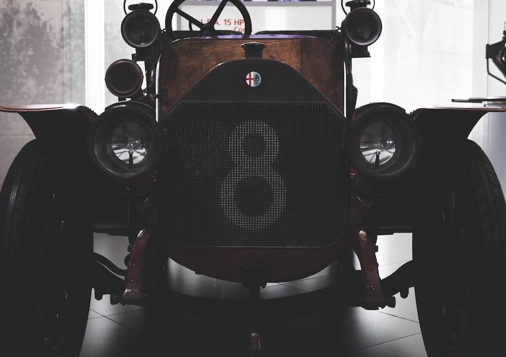 classic brown car