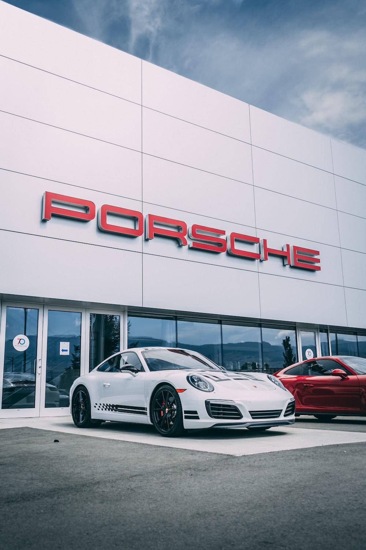 Porsche building
