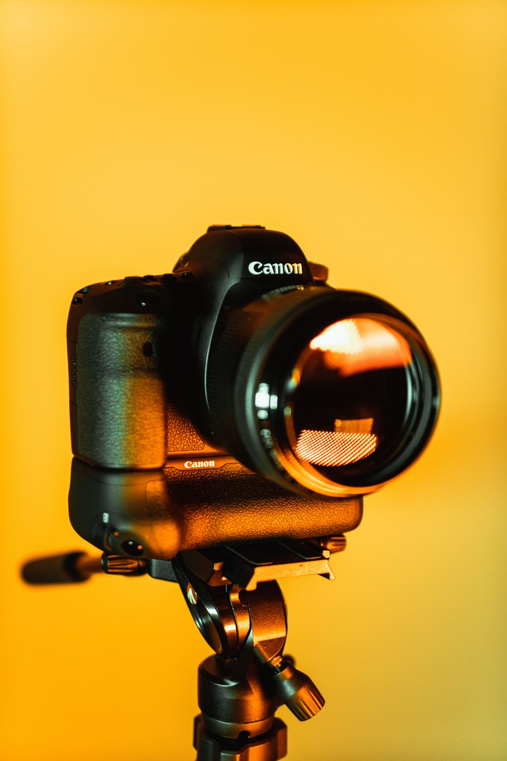 black Canon bridge camera