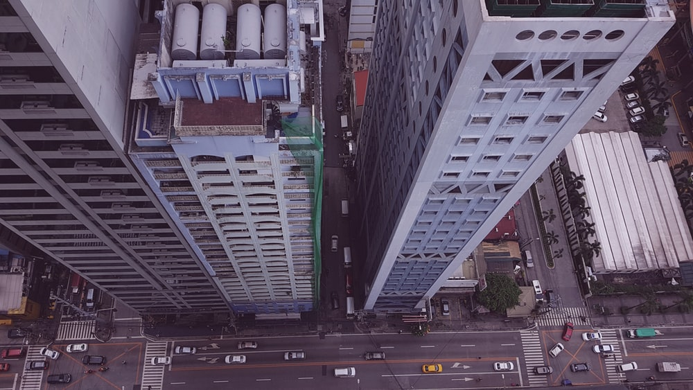aerial view photography of high-rise buildings