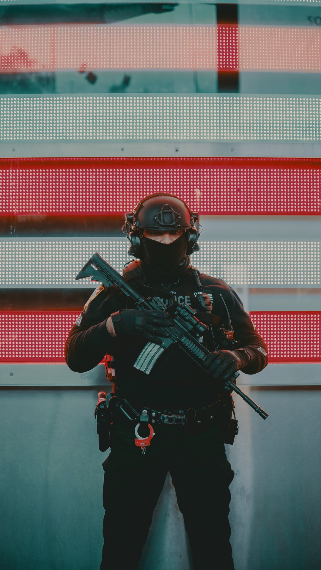 Times Square NYPD Security
