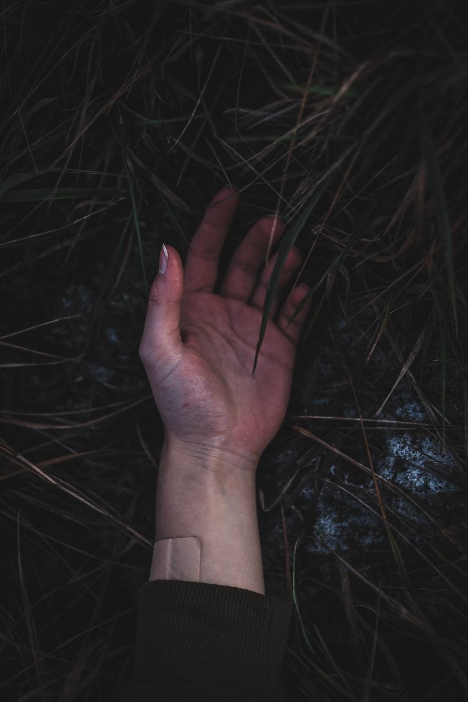 left human palm