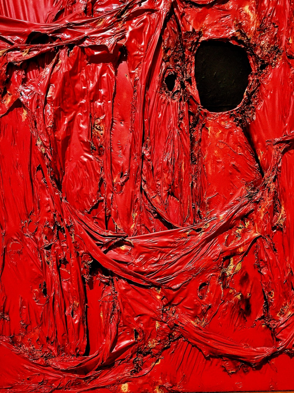red surface