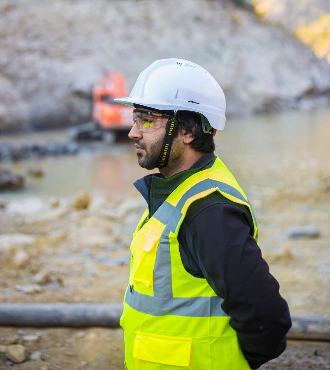 During Health & Safety audit at a site in Pakistan.