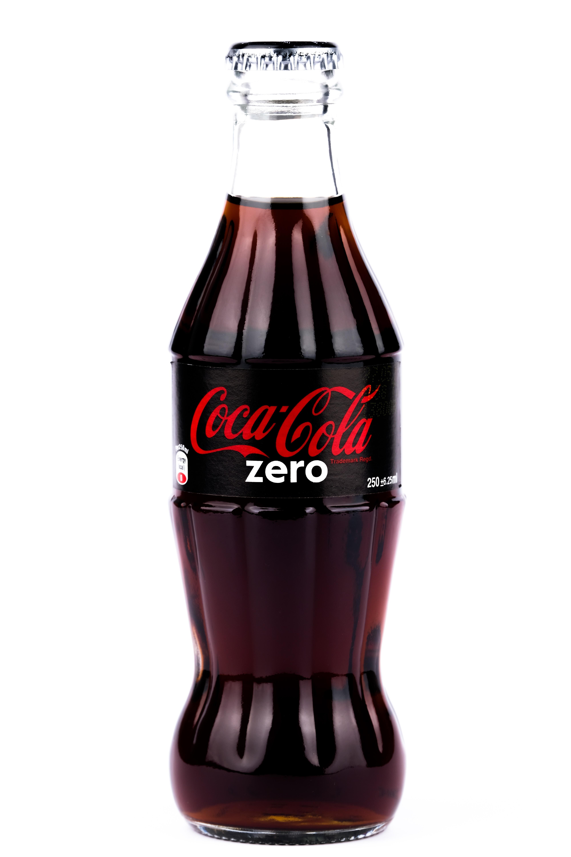 black and white Coca-Cola soda maker