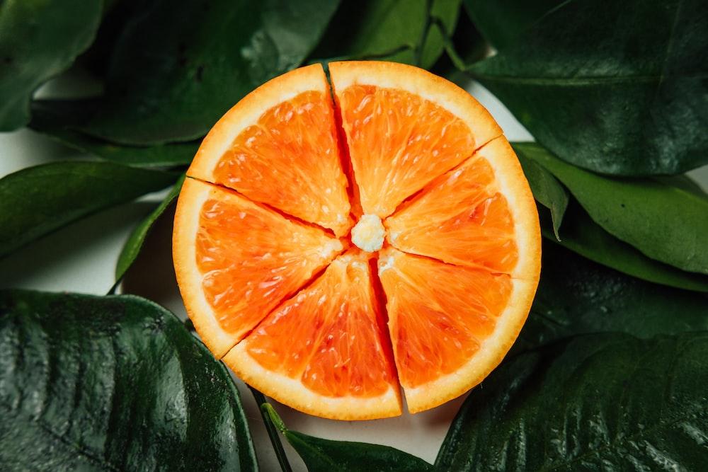 sliced oranger