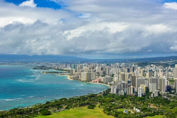 Image of Honolulu city.