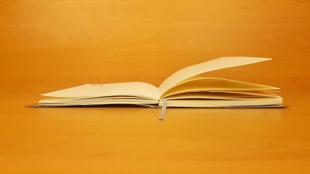 open wide book