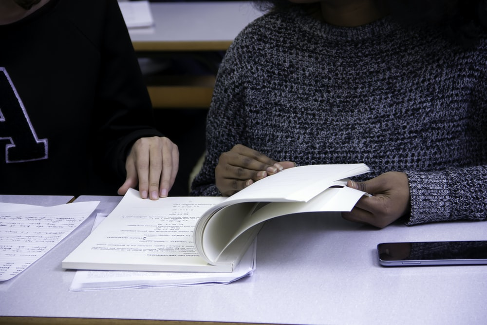 student attending in-person tutoring session