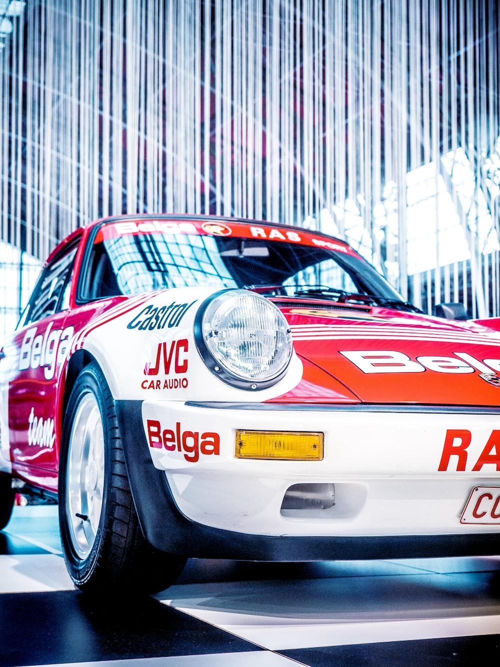 white and red Porsche 911 Turbo
