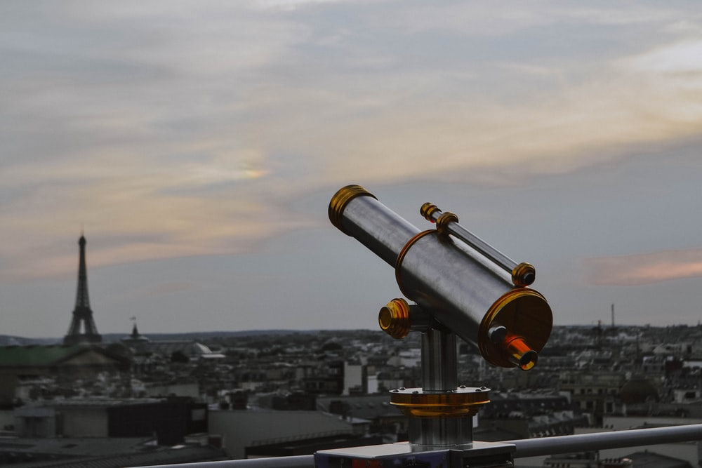 gray telescope