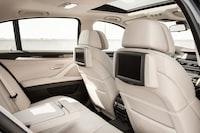 white vehicle backseat