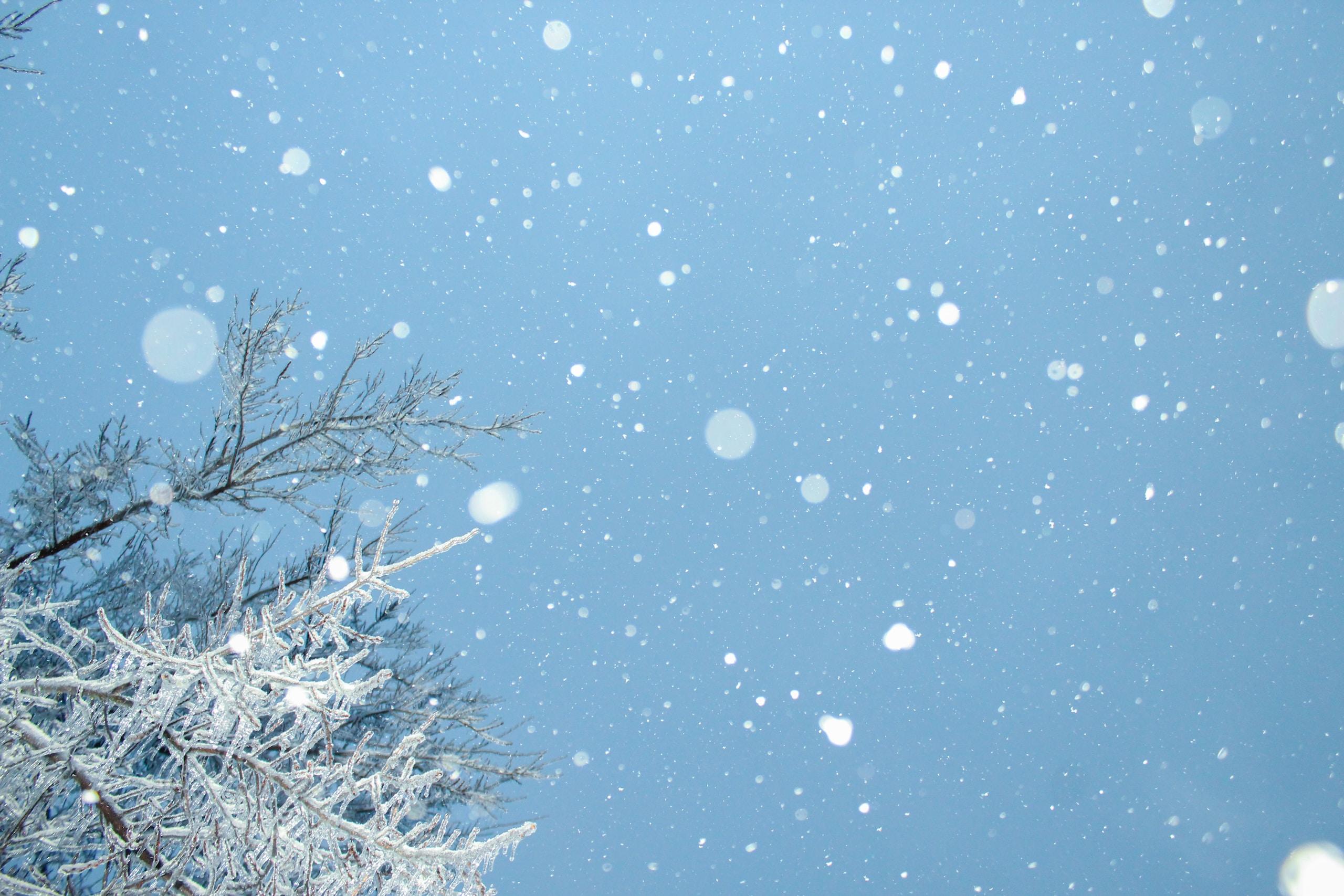 Nieve y predicciones meteorológicas, tiempo del fin de semana