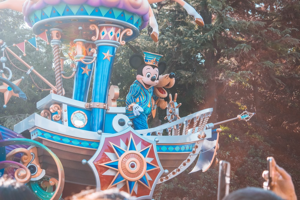 Mickey Mouse and Friends in Walt Disney World