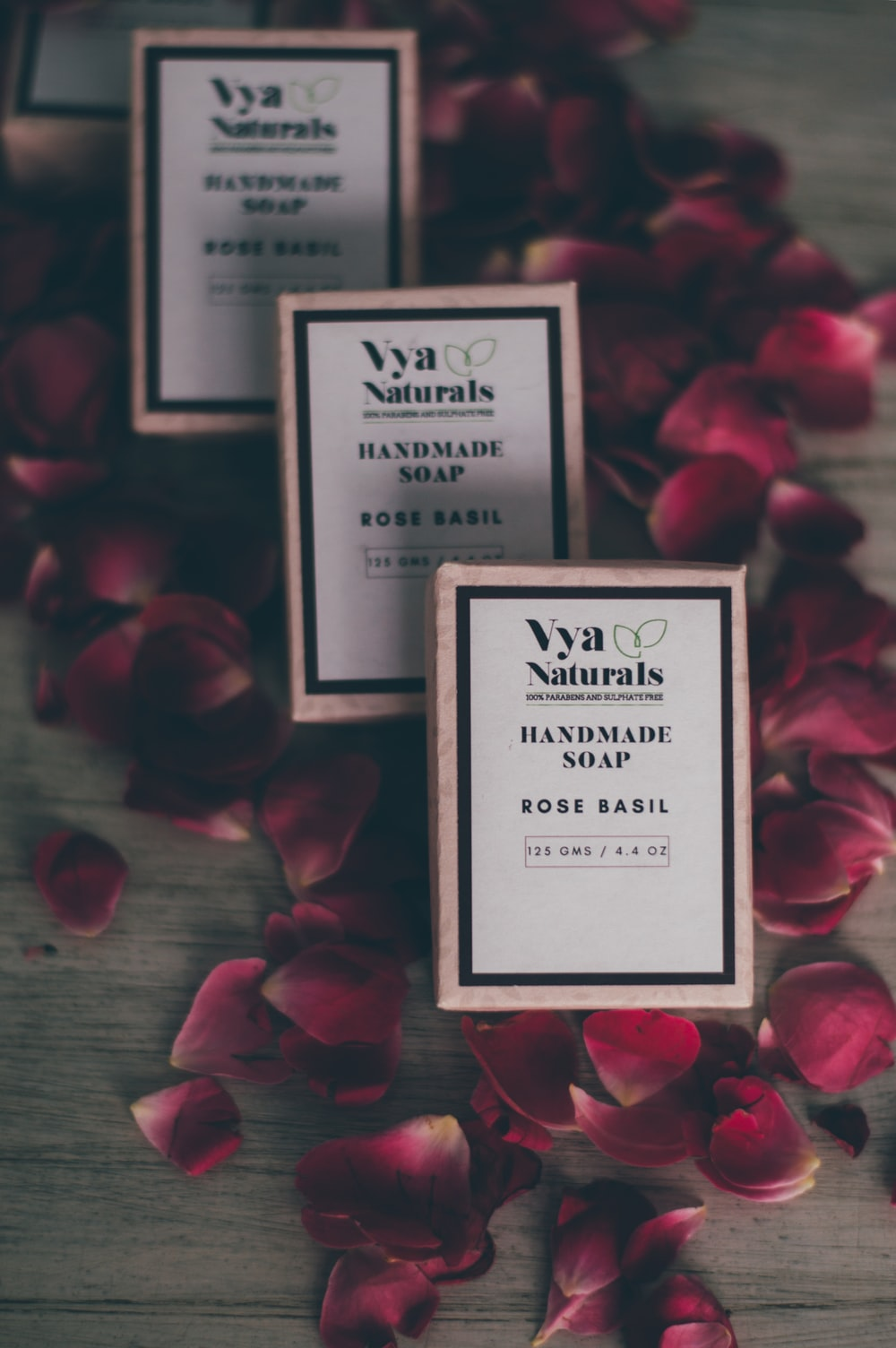 Vya Naturals Rose Basil Handmade Soap | HD photo by Hans Vivek