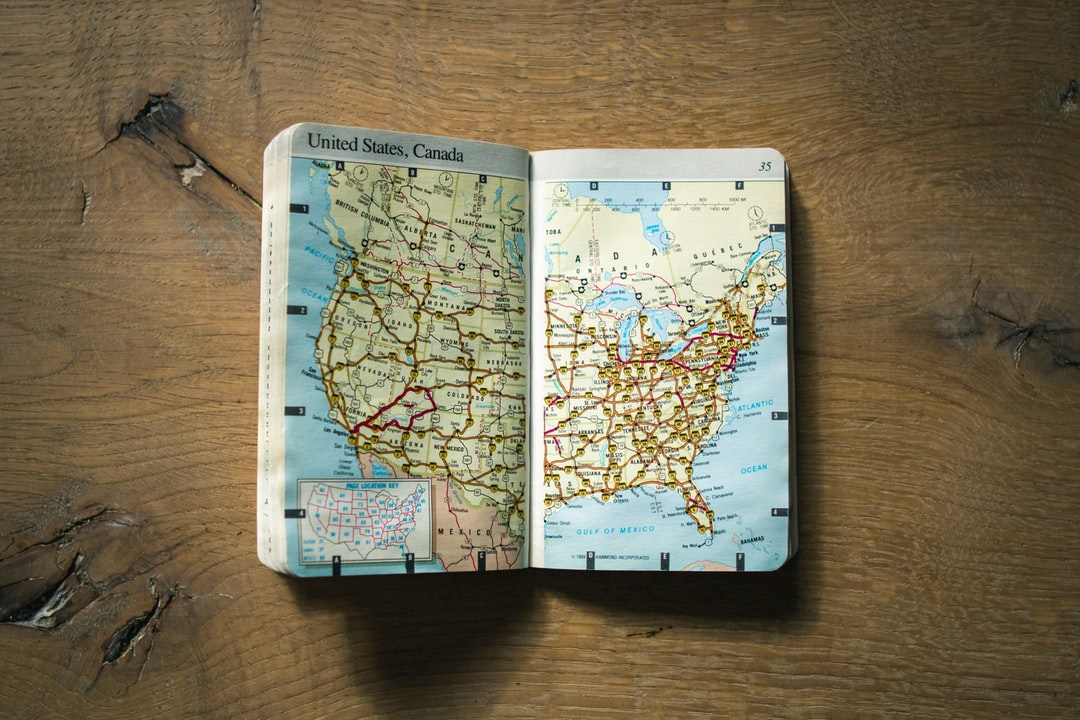 A road trip manual, that I plan to tick off every state on a motorcycle!