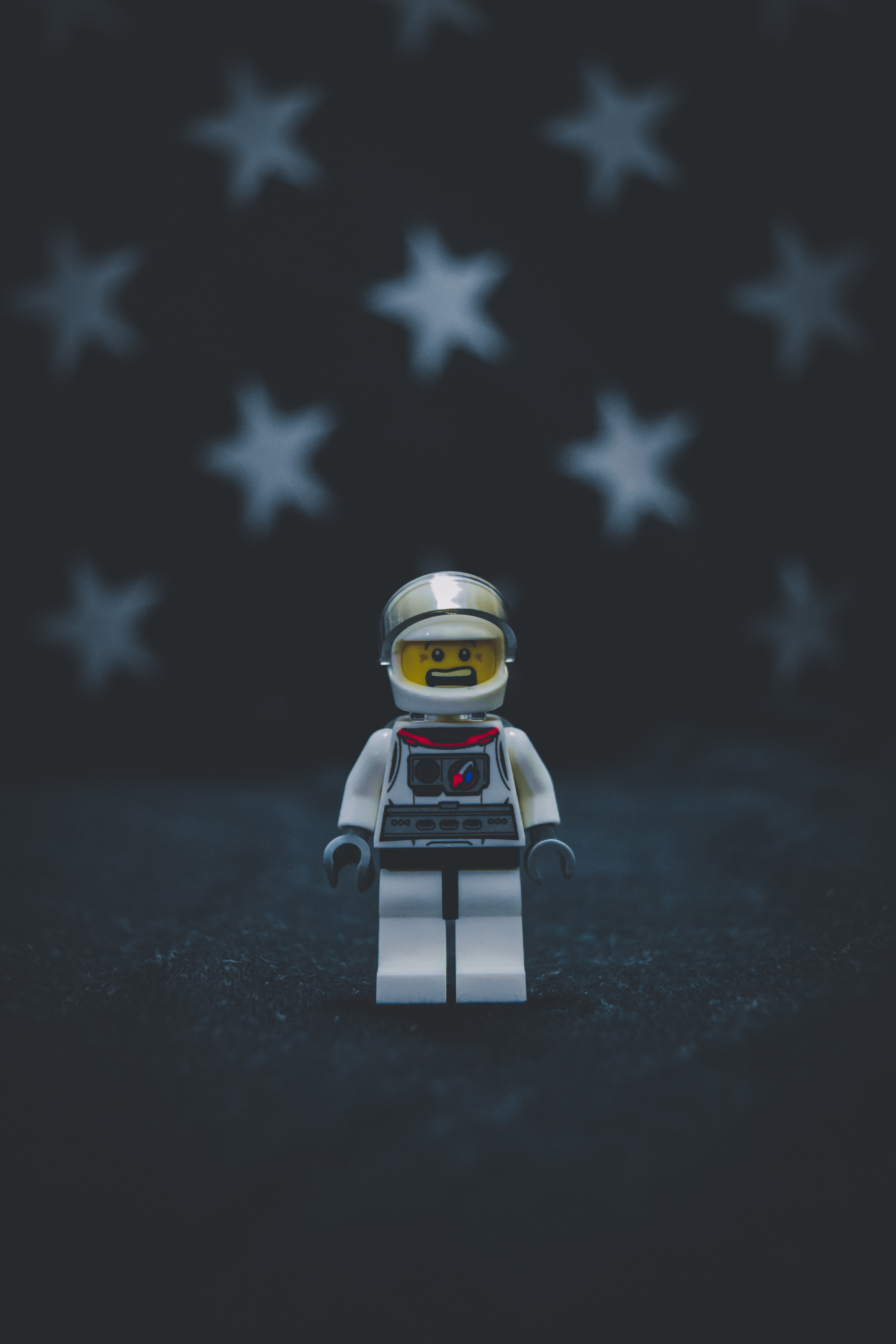 selective focus photography of of Lego minifig toy