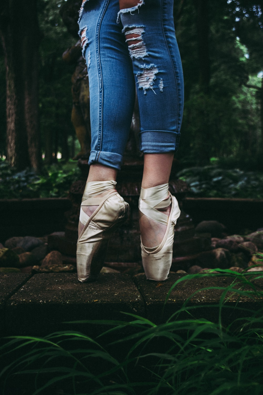 women's gold ballet shoes