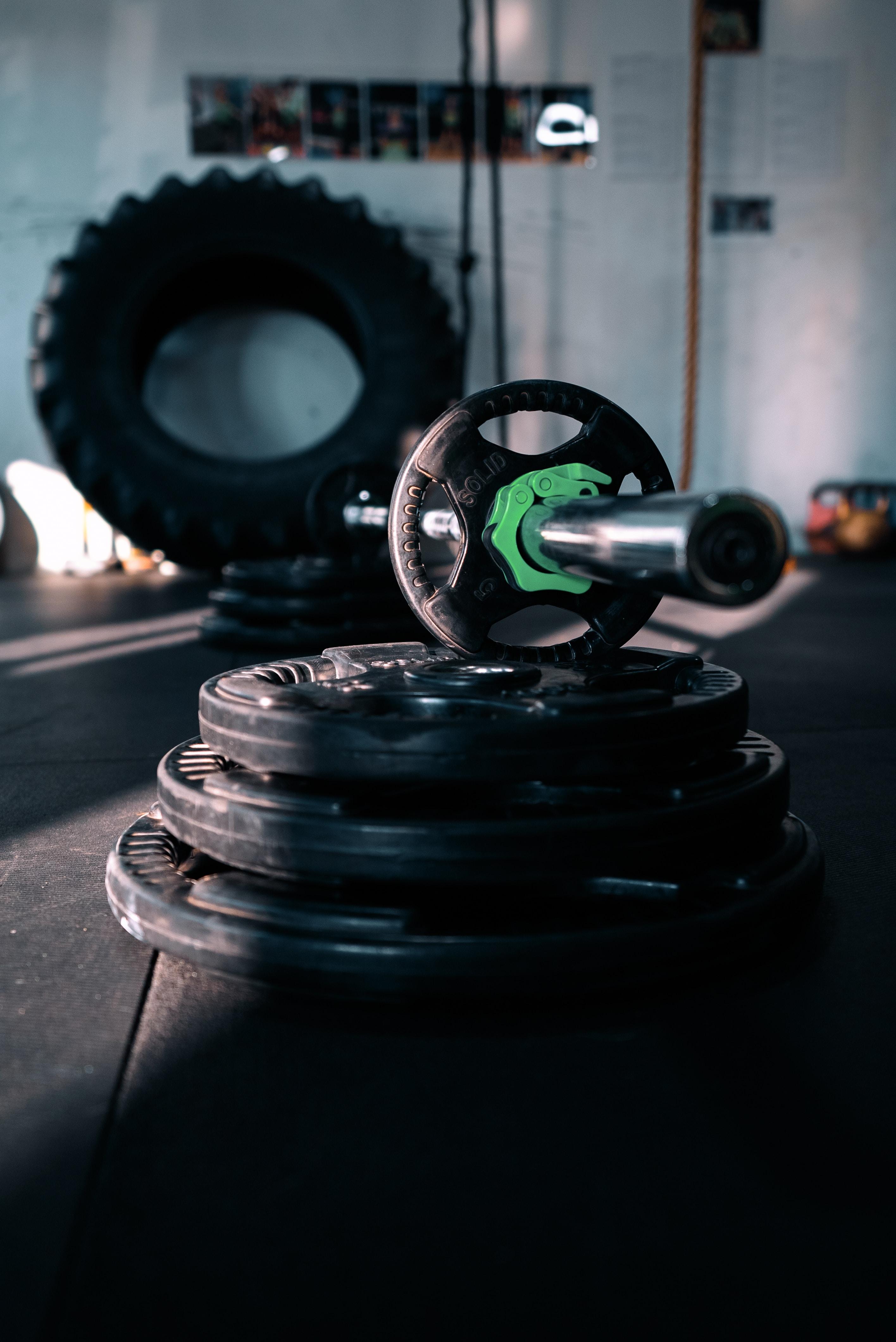 black AB wheel