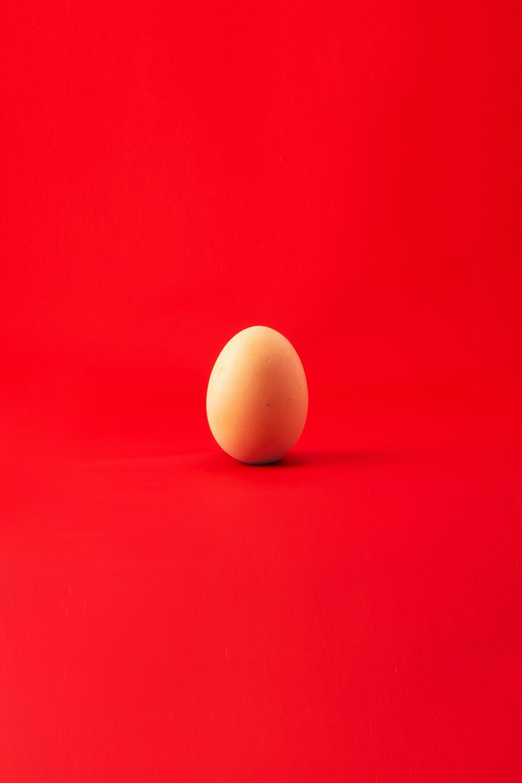 brown egg