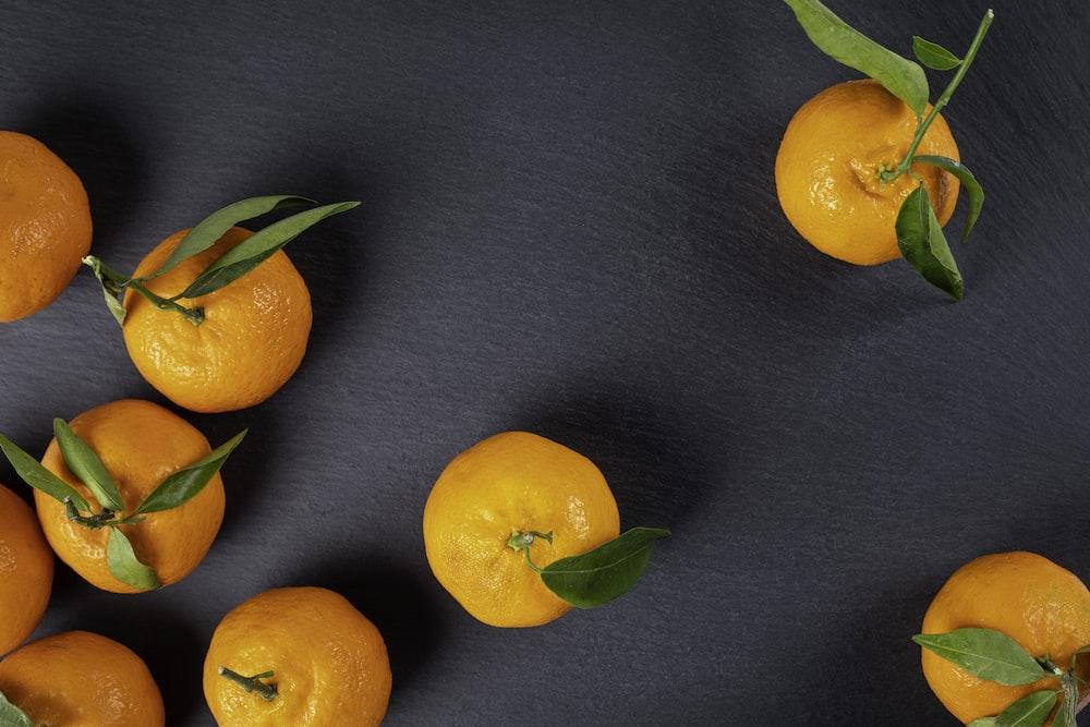 Vitamina C en naranjas