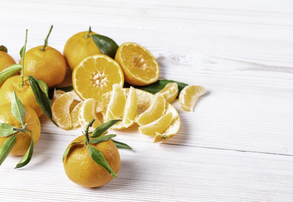 orange citrus fruits