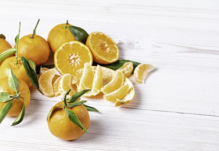 Delicious tangerines