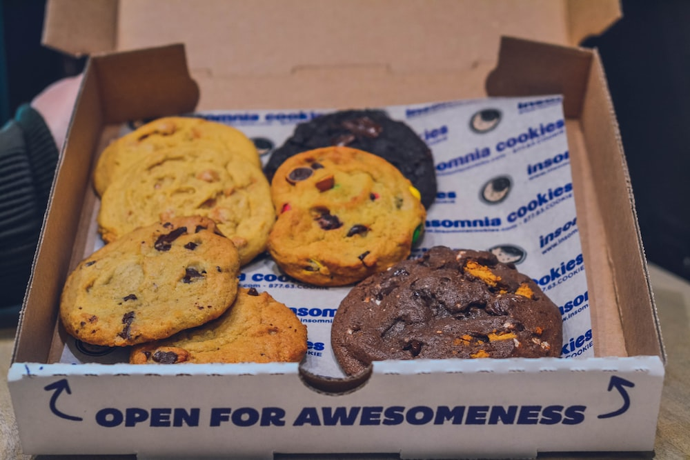 cookies in box