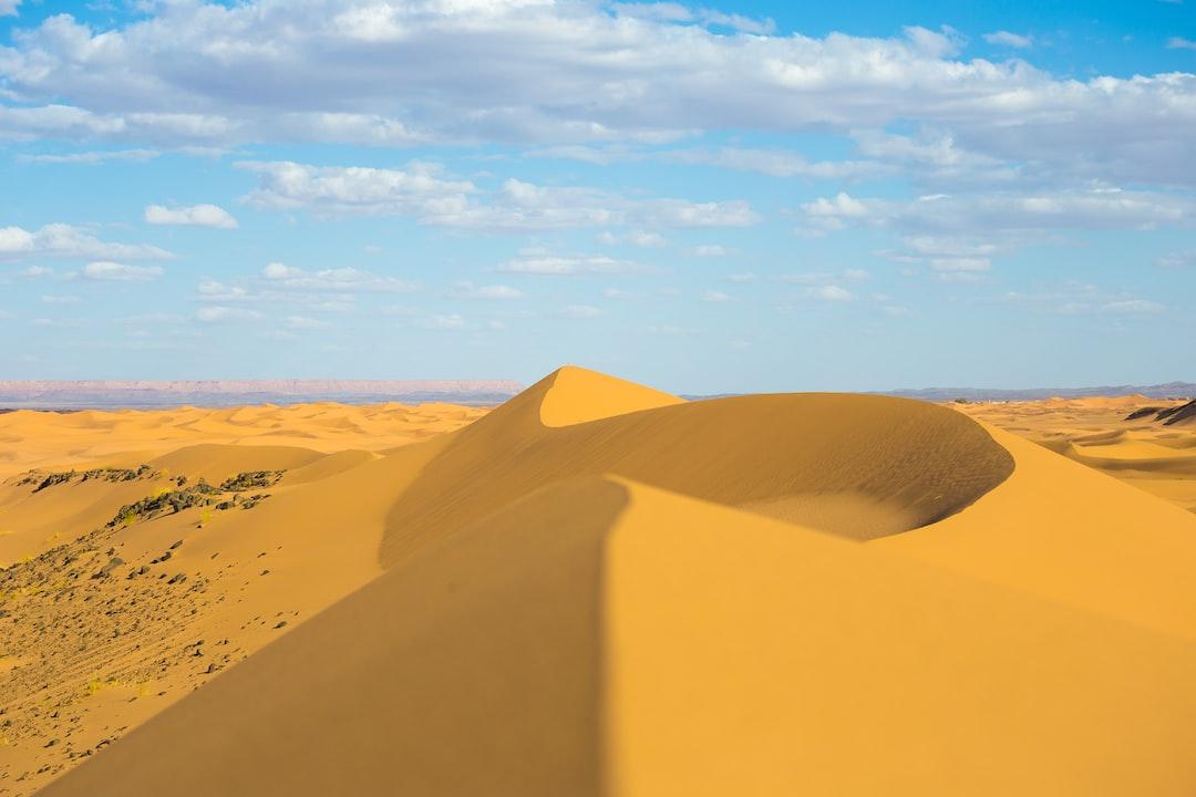 Shaped Dune